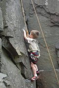 Rock Climbing Photo: Ethan on Dihedral