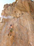 Rock Climbing Photo: Keith Brett sending Buddha's Belly at the 2010 24 ...