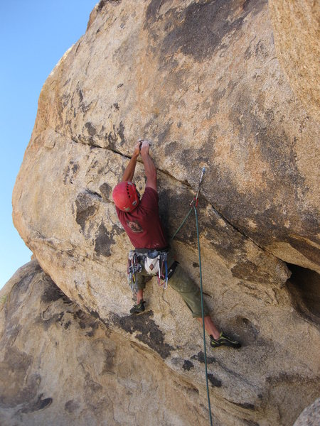 Rock Climbing Photo: Training for Owens River Gorge