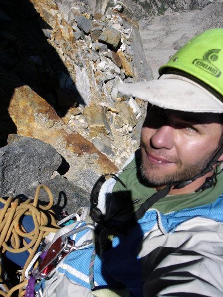 Rock Climbing Photo: this is on the twilight pillar