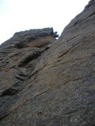 Rock Climbing Photo: 5.7 at Jurassic Park in Estes Valley