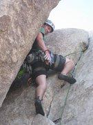 Rock Climbing Photo: love the chimeny