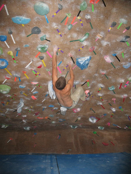 Rock Climbing Photo: bouldering cave at the boulder rock club
