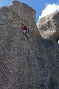 Rock Climbing Photo: Anchors Away on the Fin.