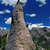 Climbing Cerberus. 30 May '10. Photo: Nate Erickson.