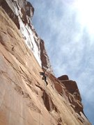 Rock Climbing Photo: In the groove !