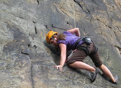 Rock Climbing Photo: New River Gorge last spring