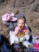 Rock Climbing Photo: Baby toys