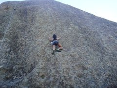 climbing amazing face..