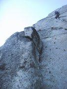 Rock Climbing Photo: left crack..