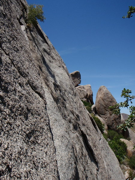 Rock Climbing Photo: Black Death - 5.8