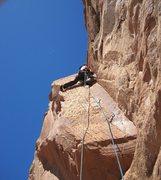 Rock Climbing Photo: The 170' groove
