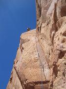 Rock Climbing Photo: Sustained climbing .
