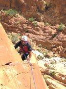 Rock Climbing Photo: Paul following P2
