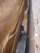 Rock Climbing Photo: 5.9 chimney pitch 2