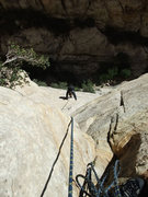 Rock Climbing Photo: Jascha following the first pitch