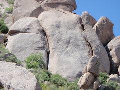 Rock Climbing Photo: Changes in Longitude, McDowell Mountains, Arizona ...