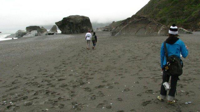 Rock Climbing Photo: main beach