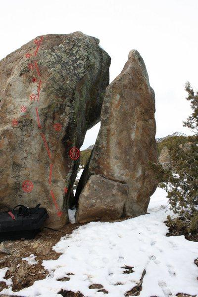 Rock Climbing Photo: starz?