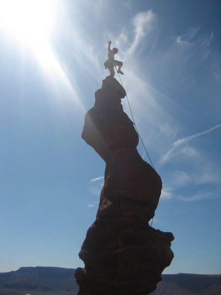 Rock Climbing Photo: The summit of Ancient Arts