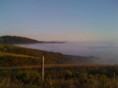 Rock Climbing Photo: San Francisco fog.
