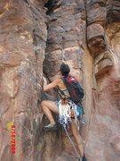 Rock Climbing Photo: Red Rocks, Physical Graffiti, Aug 2009