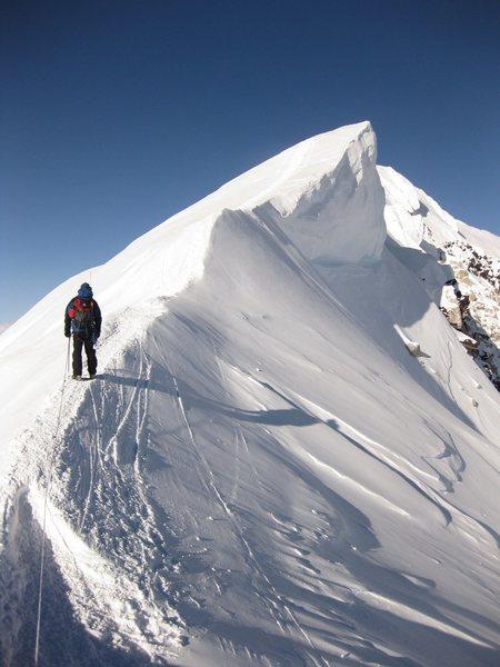Rock Climbing Photo: Denail summit ridge