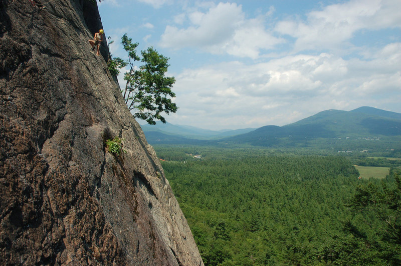 Rock Climbing Photo: At the second belay on Fourth of July weekend, 200...