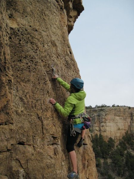 Rock Climbing Photo: Shelf Rd.