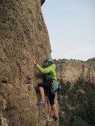Rock Climbing Photo: I look nervous.