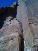 Rock Climbing Photo: Indian Creek crack, get some