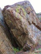 Rock Climbing Photo: Tater Tot, 13b.