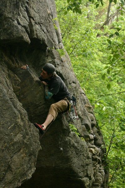 Rock Climbing Photo: me... photo by mike