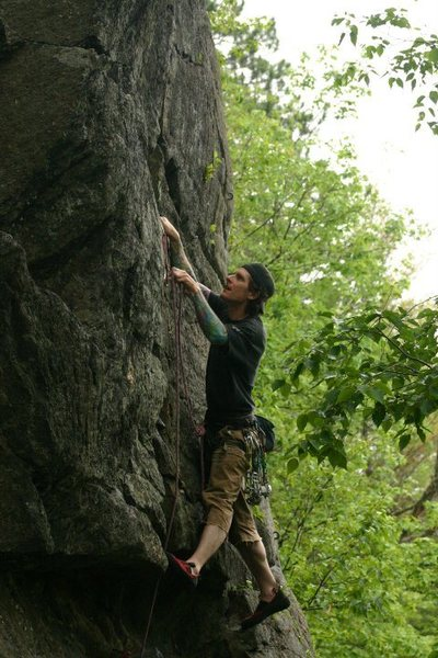 Rock Climbing Photo: me again... photo by mike t