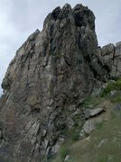Rock Climbing Photo: The Klingong Arete!