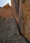 Rock Climbing Photo: on the enduro 2nd pitch. This is what it's all abo...