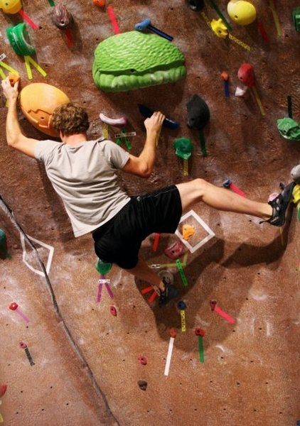 Rock Climbing Photo: Gym at Westminster College