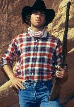 Rock Climbing Photo: Cowboy up!