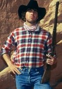 Rock Climbing Photo: Cowboy up!