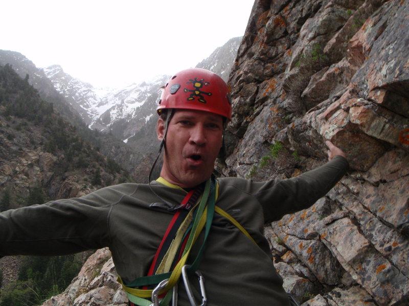 Rock Climbing Photo: Lay Back Crack