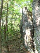 Rock Climbing Photo: Left Highball Wall