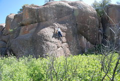 Rock Climbing Photo: Technical and balancy would describe this route to...