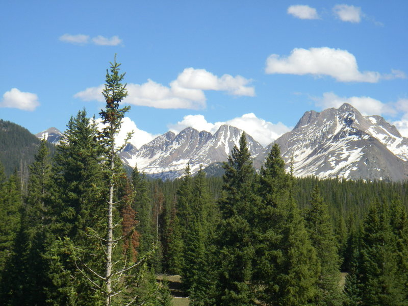 Rock Climbing Photo: view from ~Molas Pass 6/5/10