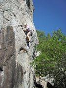 Rock Climbing Photo: leapin' lizards