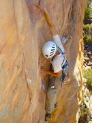 Rock Climbing Photo: I'm getting ready to catch Tristan on a  fall ...