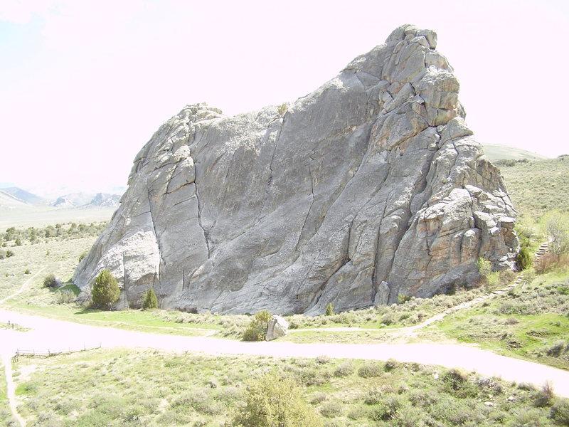 Rock Climbing Photo: Bath Rock.