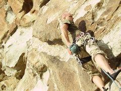 Rock Climbing Photo: Myself on C&C.