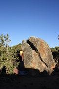 Rock Climbing Photo: Split Pea