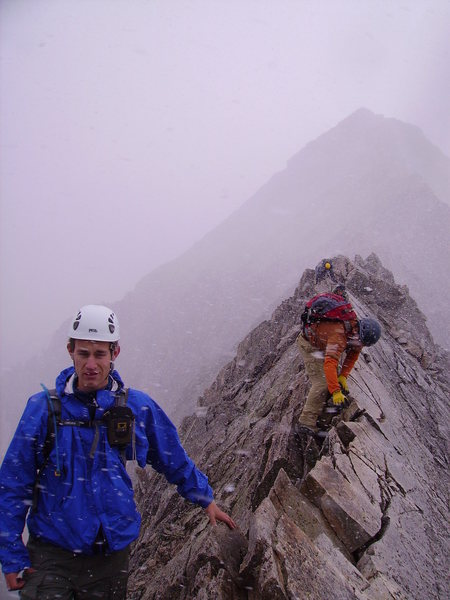 "Rock Climbing Photo: ""Knife-Edge"": Capitol Peak."