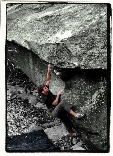 "Aaron Parlier on ""Thews"" in the Boneyard Area, GHSP, Va"